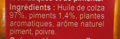 Spéciale pizza - Ingrediënten - fr