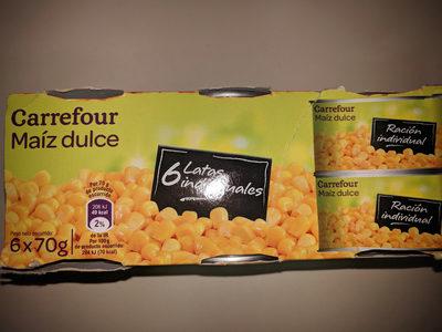 maiz dulce carrefour 6 latas - Producto
