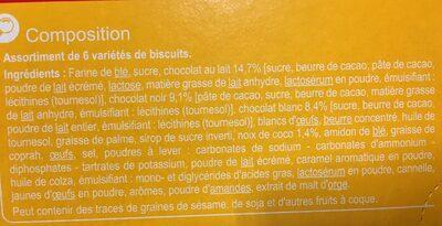Dégustation Gourmande - Ingredients - fr