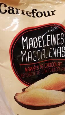 Madeleines nappées de chocolat - Product - fr