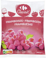 Framboises Entières - Product - fr