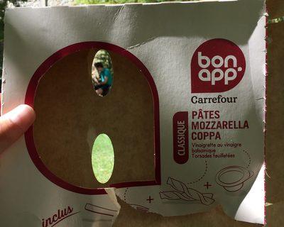 Bonapp Pâtes Mozzarella Coppa - 1