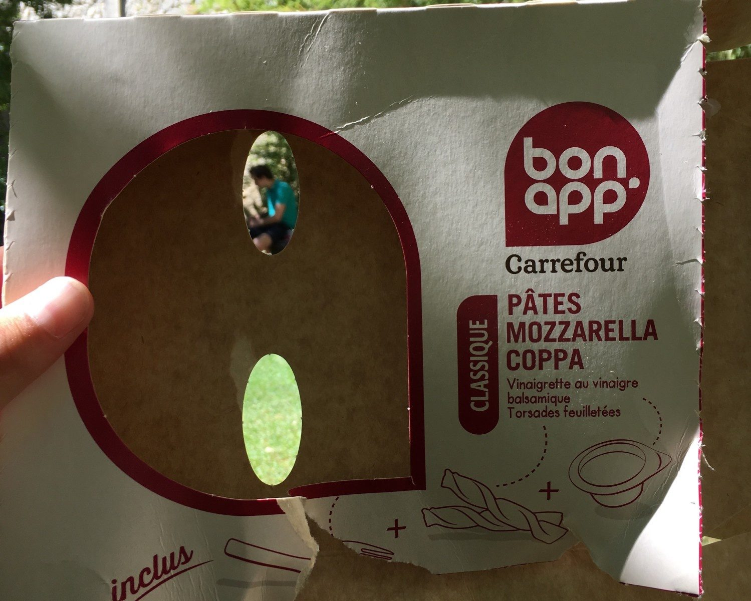 Bonapp Pâtes Mozzarella Coppa - Product