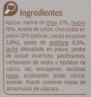 Bizcochitos - Ingredients - es
