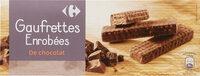 Gaufrettes Enrobées de Chocolat - Produit - fr