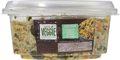 Salade  boulgour, quinoa, graines de courge - Product