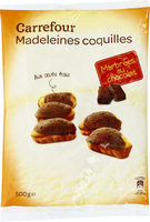 Madeleines Coquilles Marbrées au chocolat - Product