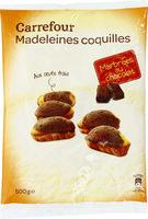 Madeleines Coquilles Marbrées au chocolat - Produit