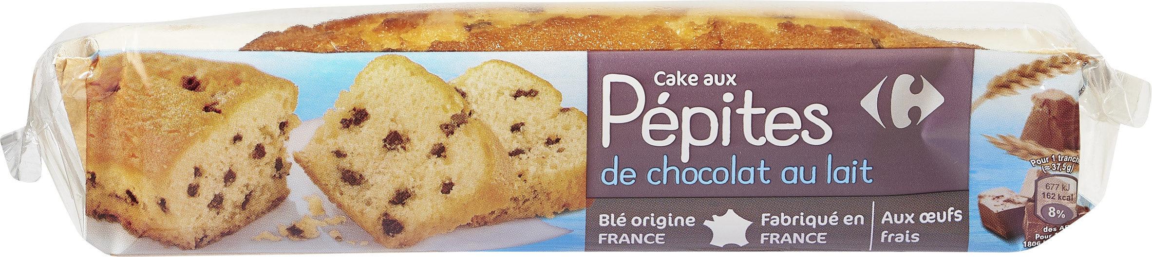 Cake aux pépites de chocolat au lait - Product