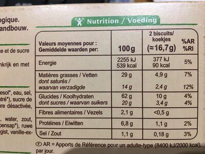 Palmiers - Ingrediënten