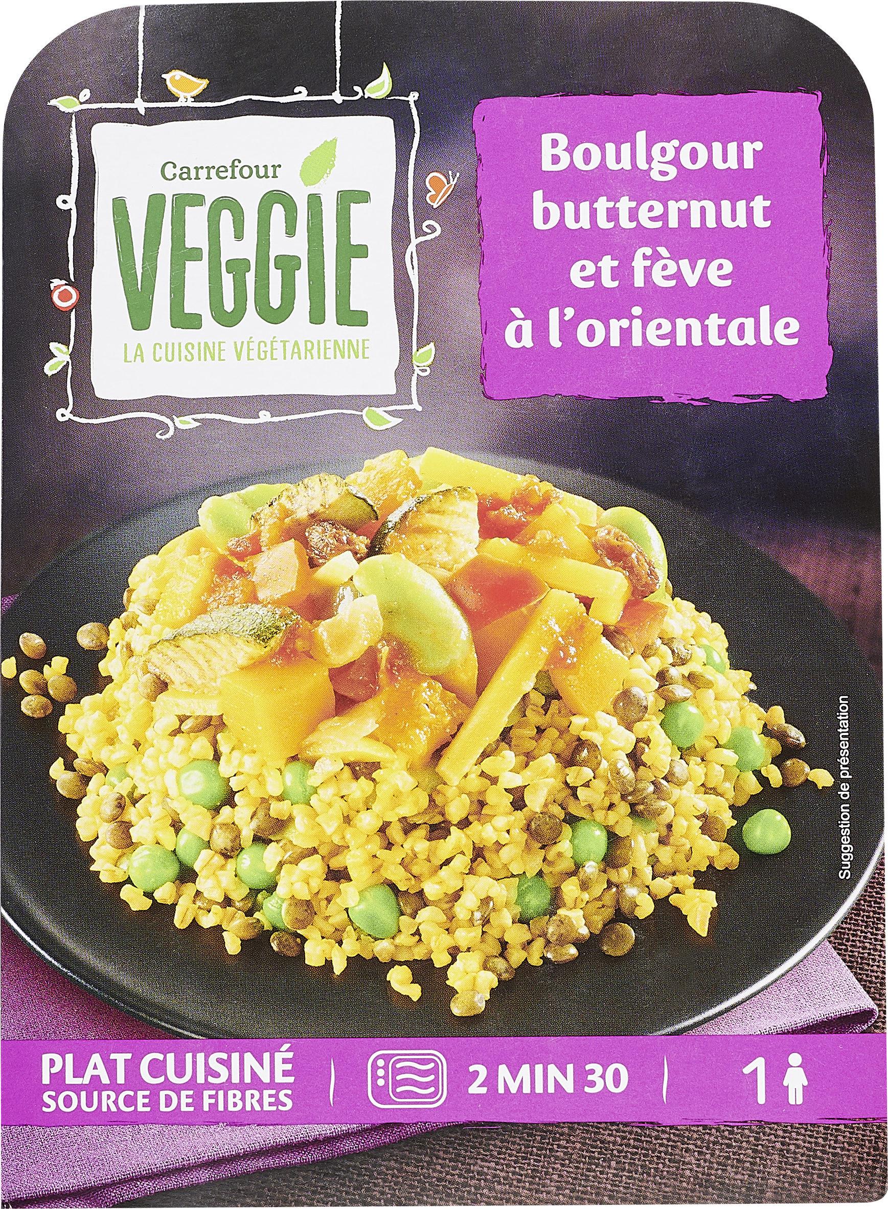 Boulgour  Butternut et fève à l'orientale - Produit