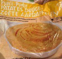 Puree patate douce - Produit - fr