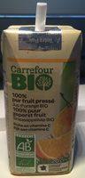 Jus d'orange Bio 100% pur fruit pressé - Produit