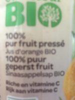 Jus d'orange Bio 100% pur fruit pressé - Ingrédients