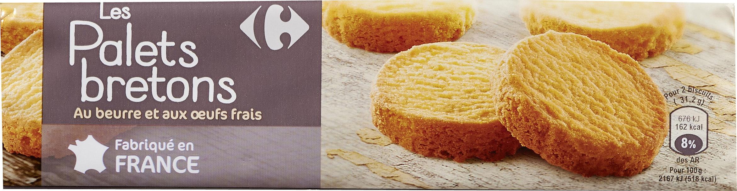Palets Breton Au beurre et aux œufs frais - Product - fr