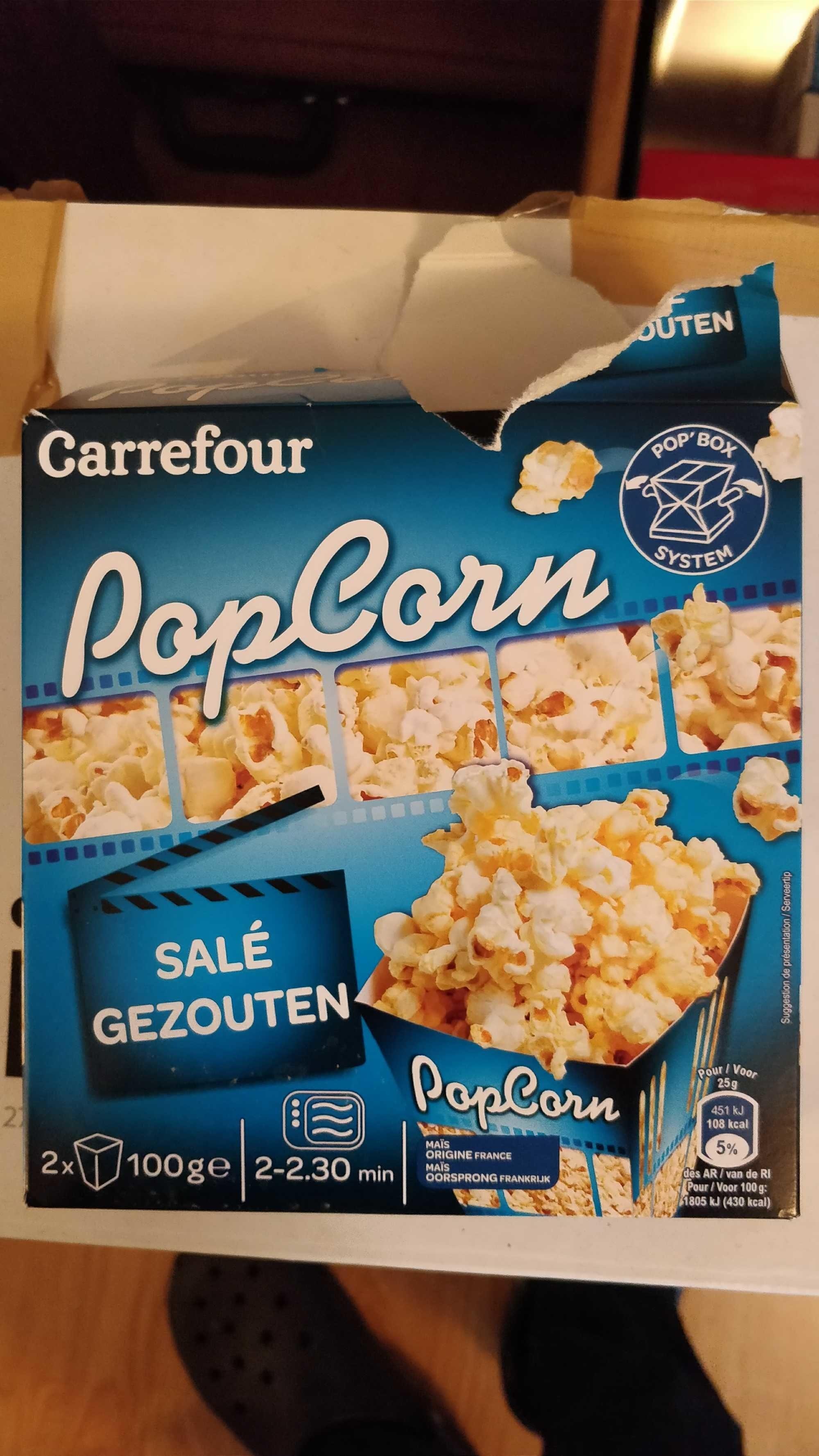Popcorn salé - Product - en