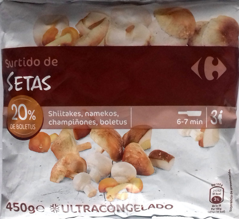 Assortiment de champignons - Producto - es