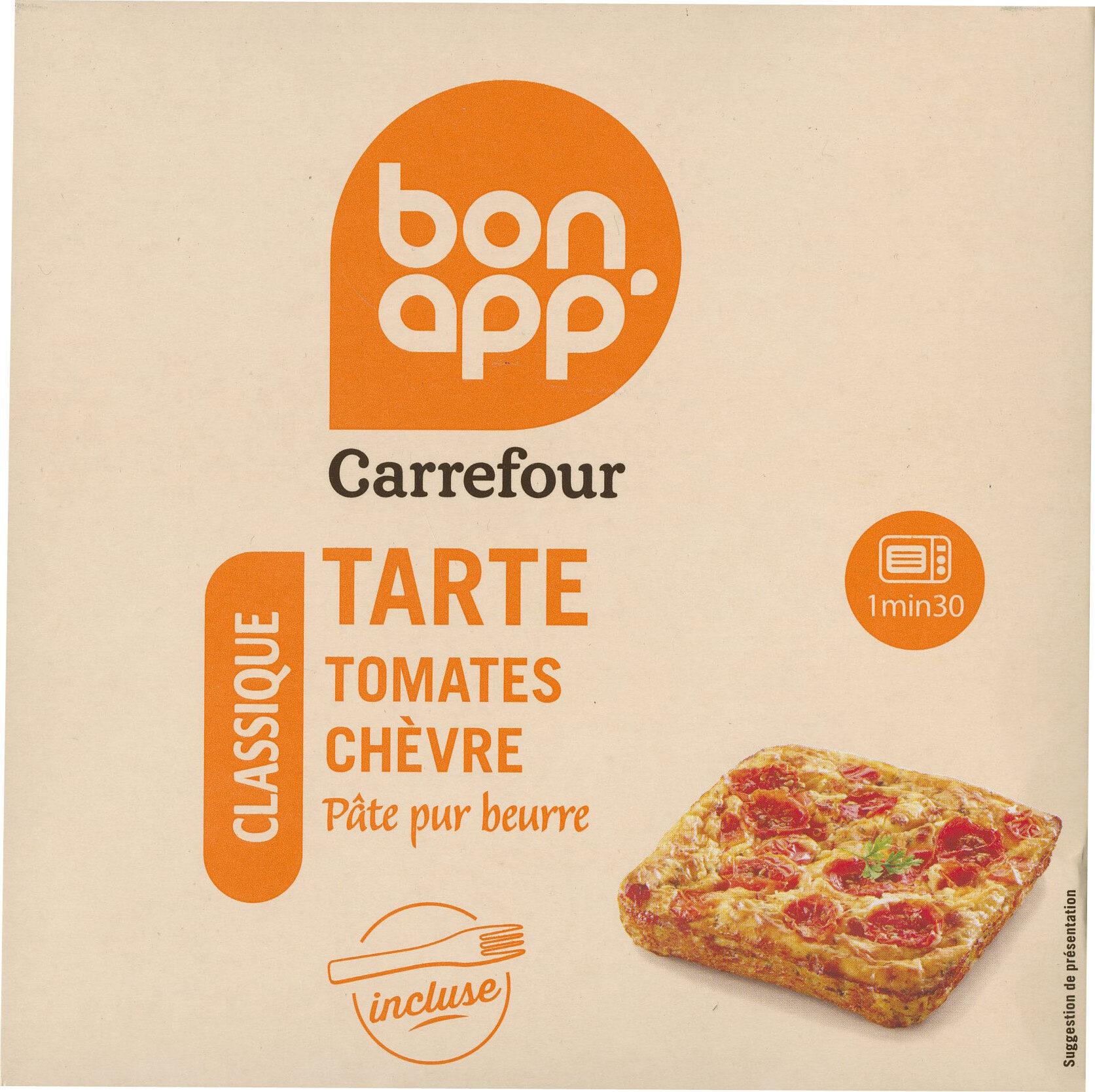 Tarte Tomates Chevre - Produit - fr