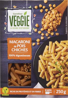 Macaroni de pois chiches 100% légumineuse - Producte