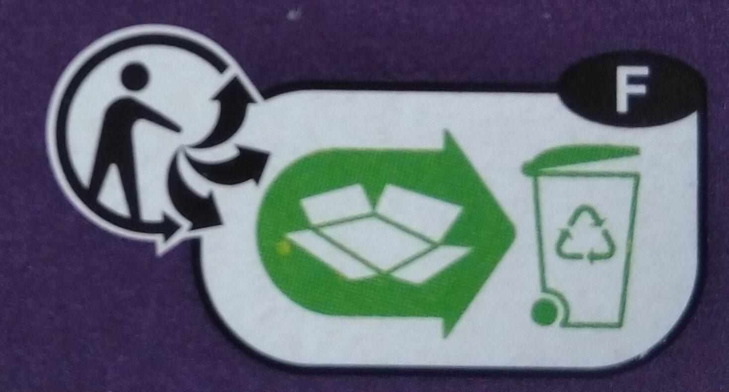 Fusilli depois cassés100% légumineuse - Instruccions de reciclatge i/o informació d'embalatge - fr