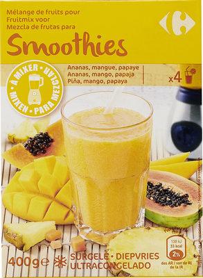Mélange de fruits Pour Smoothies - Producto