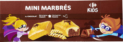 Mini marbrés au chocolat - Product - fr