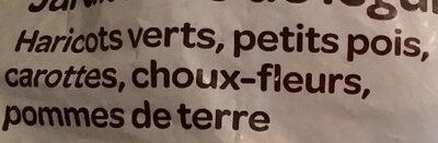 Jardinière de légumes - Ingrédients - fr