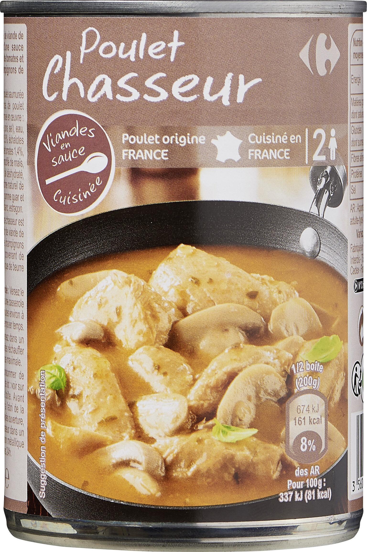 Poulet chasseur - Produit - fr