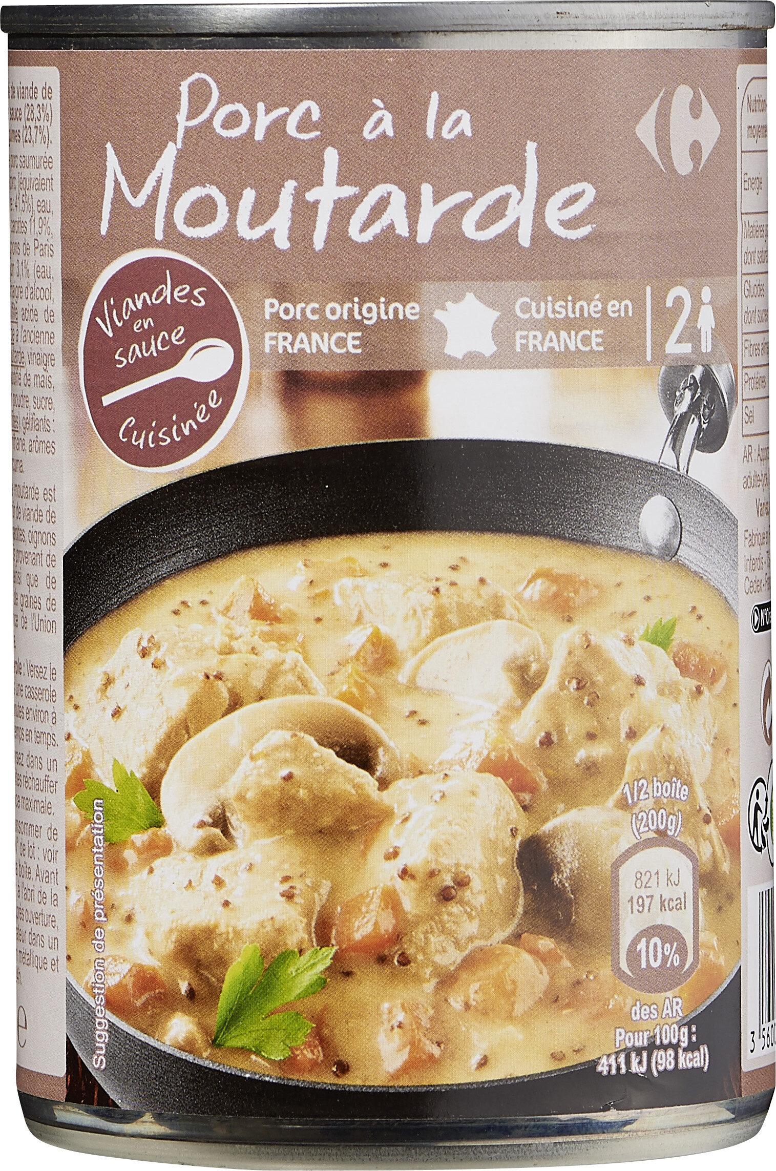 Porc à la moutarde - Produit - fr