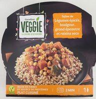 Tajine de Légumes épicés, boulgour, grand épeautre - Product - fr