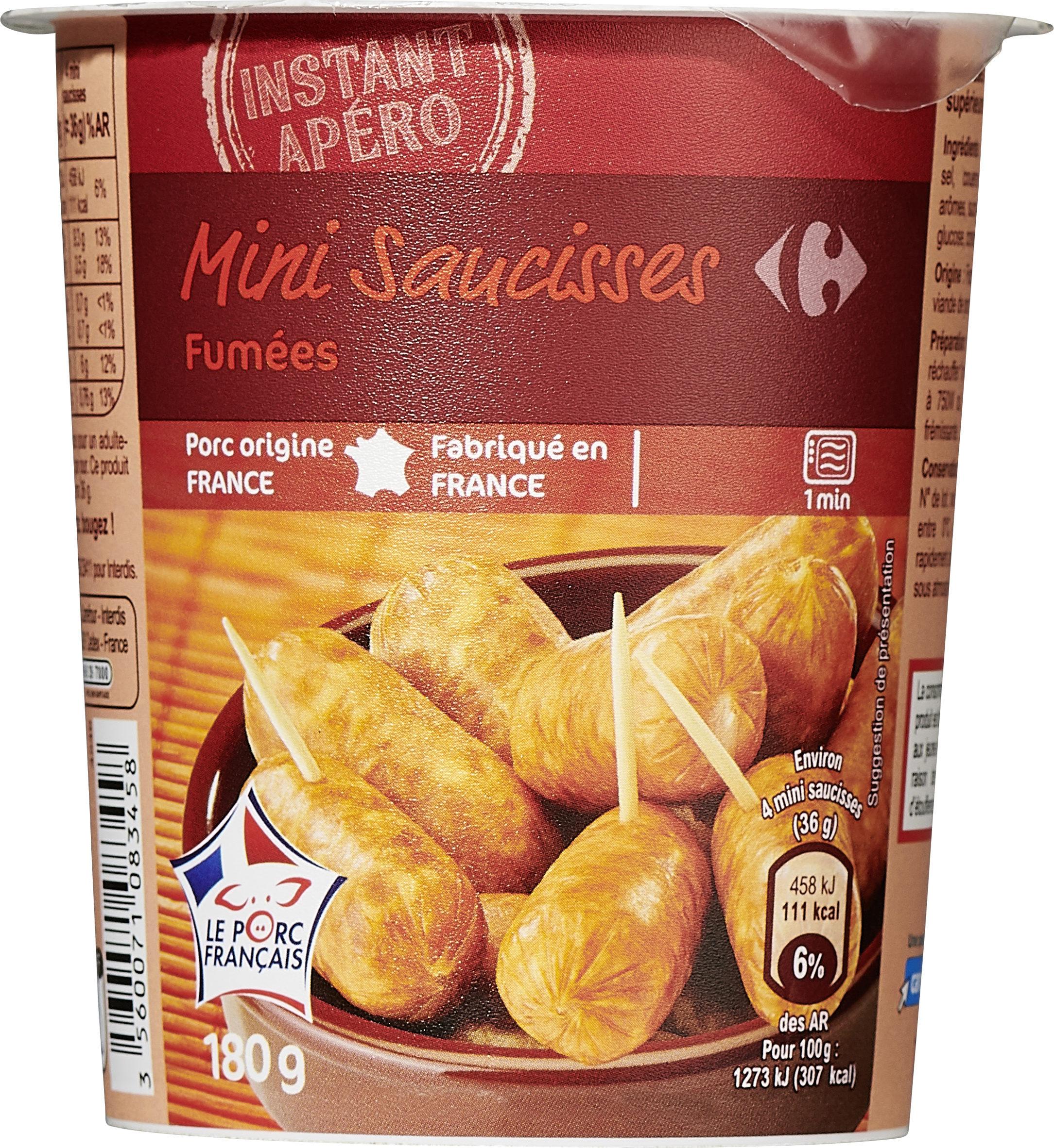 Mini Saucisses fumées - Produit - fr