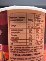 Mini Saucisses fumées - Informations nutritionnelles - fr