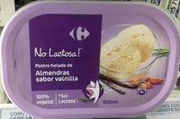 Postre helado de almendras sabor vainilla - Producto