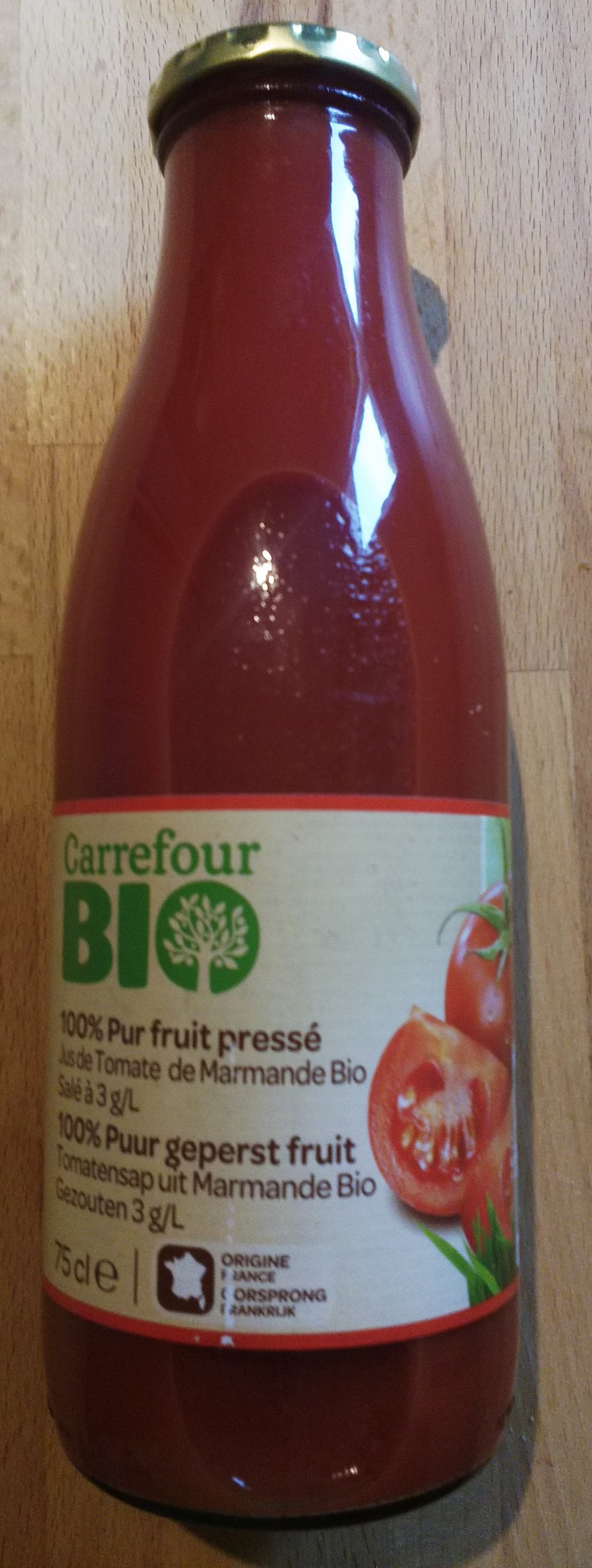 Jus de Tomates de Marmande - Product - fr