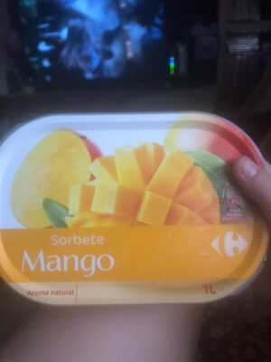 Sorbete Mango - Producto