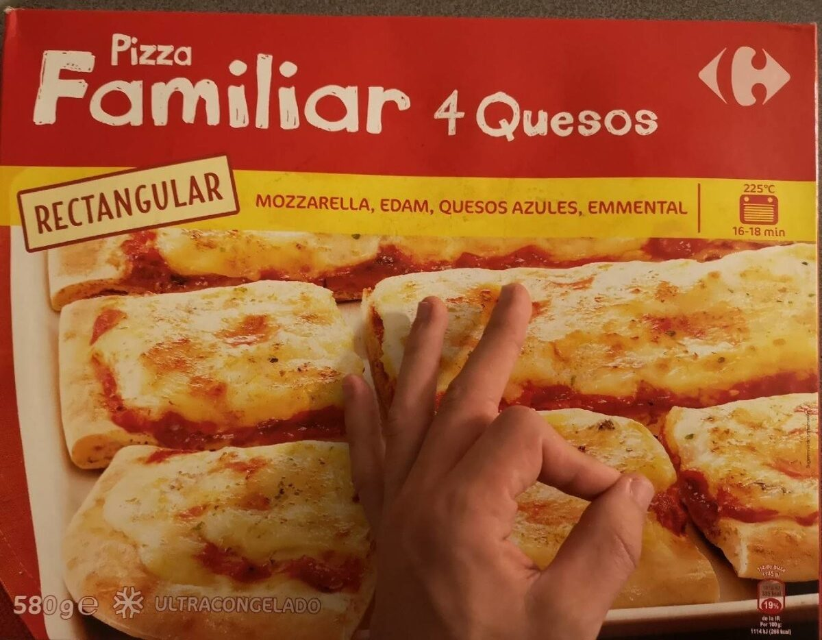 Pizza Familiar 4 Quesos - Producte - es