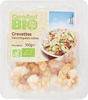 Crevettes décortiquées cuites bio - Prodotto - fr