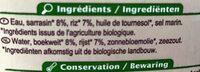 Boisson Sarrasin Riz - Ingrediënten