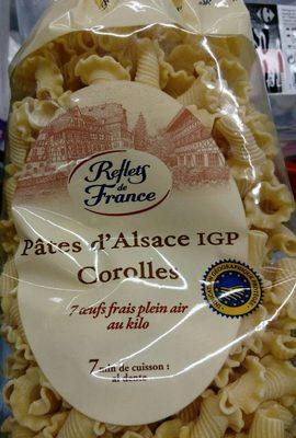 Pâtes d'Alsace IGP Corolles - Product