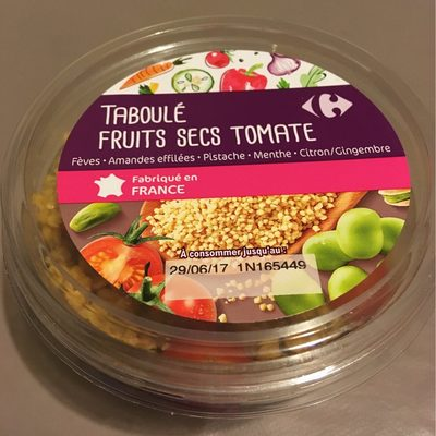 Taboulé fruits secs tomate - Product