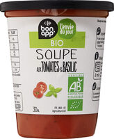 Soupe tomate basilic - Prodotto - fr