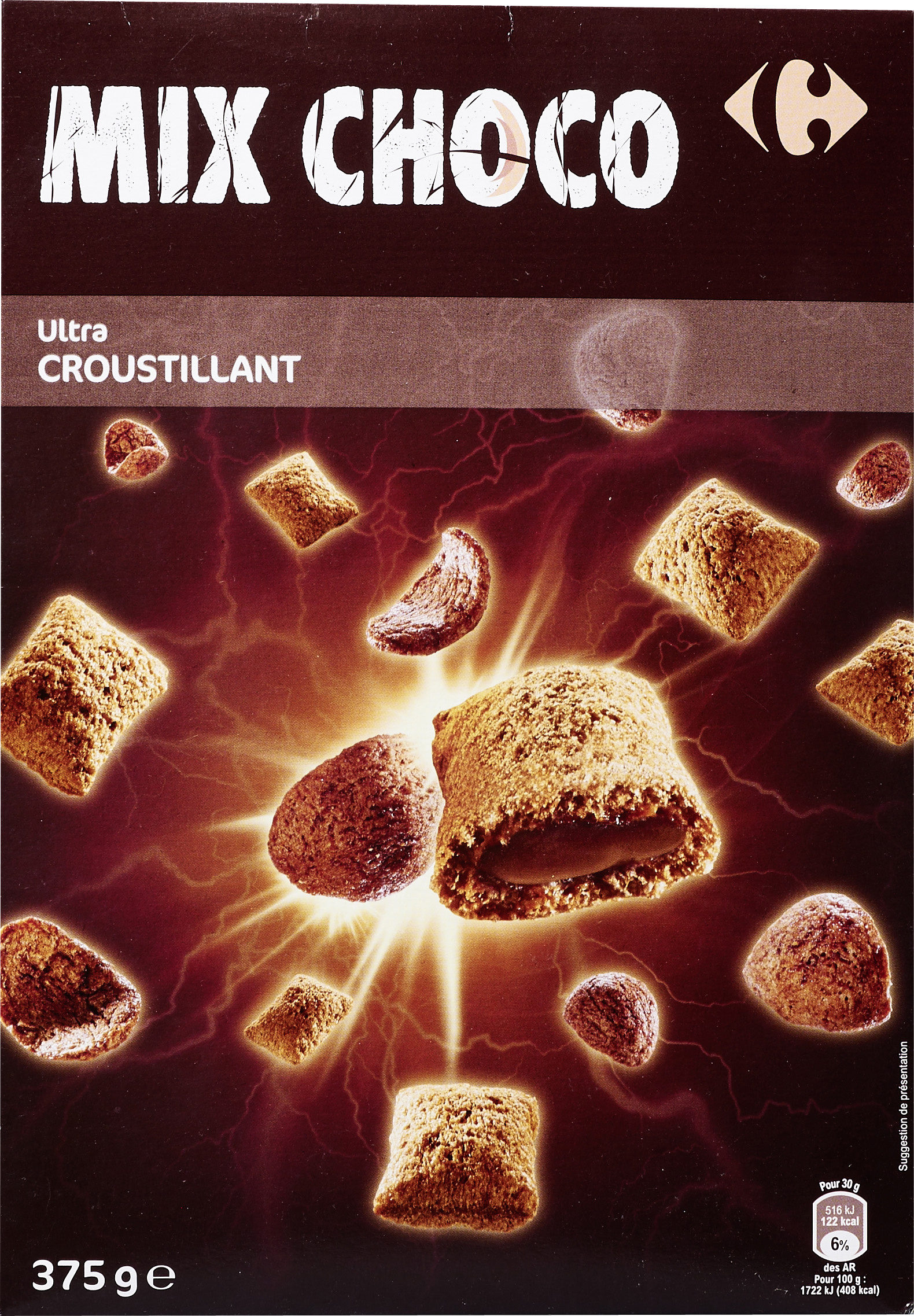 Mix gout choco - Product - fr