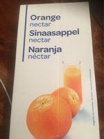 Orange nectar - Produit - fr