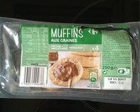 Muffins aux graines - Produit