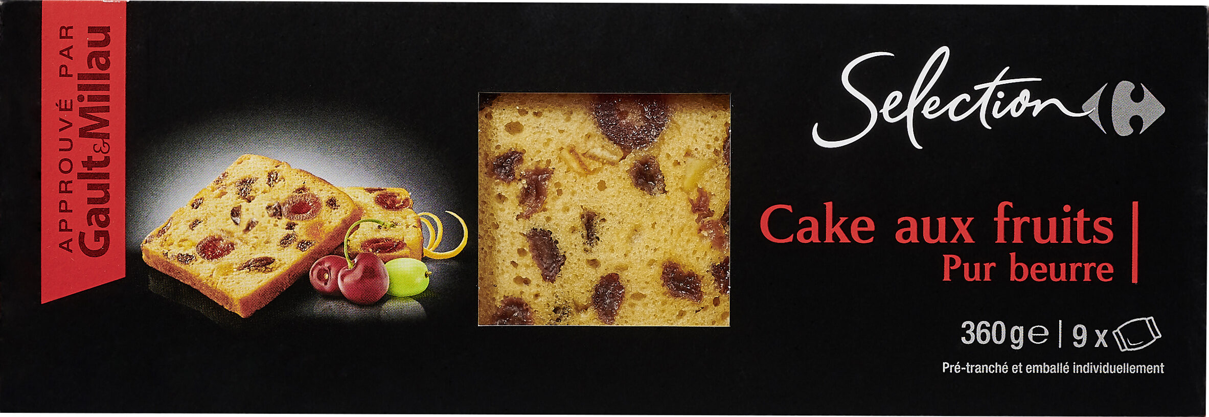 Cake aux fruits pur beurre - Product - fr