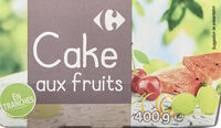 Cake aux fruits - Product - fr