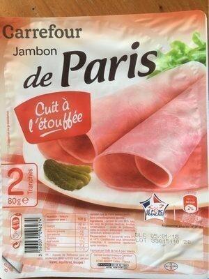 Jambon de Paris cuit à l'étouffée - Produit - fr