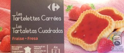 Tartelettes carrees - Producto