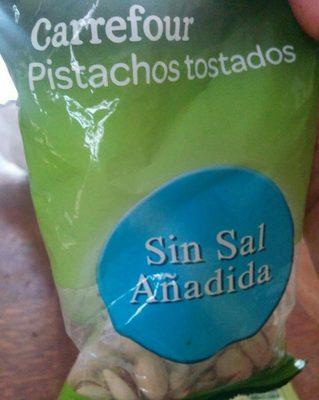 Pistachos tostados sin sal añadida - Producto