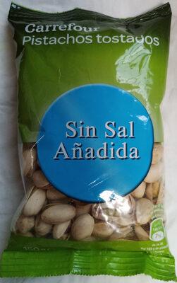 Pistachos tostados sin sal añadida - Producto - es